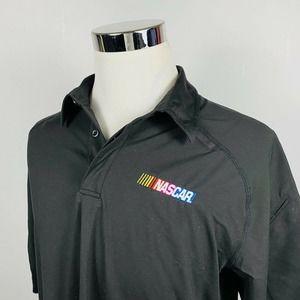 5.11 Tactical Large NASCAR Logo Polo Shirt Black